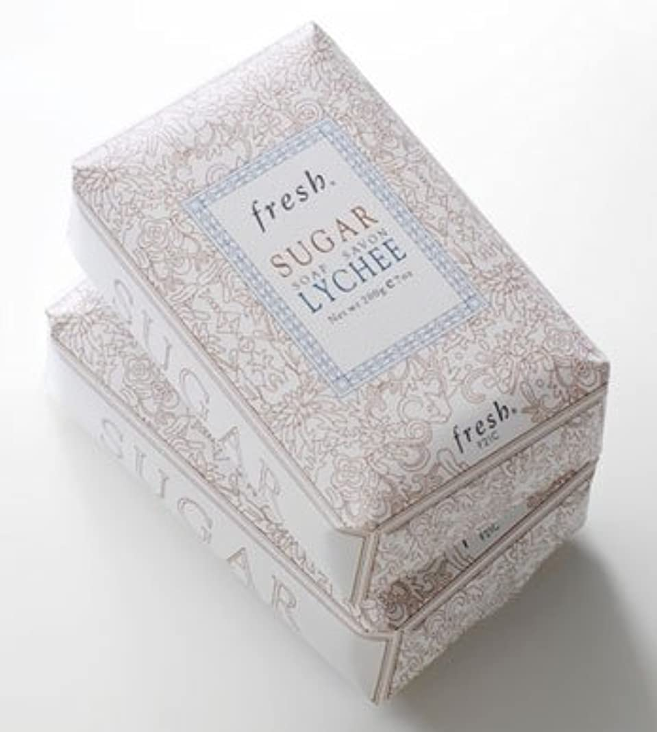 型第二分割Fresh SUGAR LYCHEE SOAP(フレッシュ シュガーライチ ソープ) 7.0 oz (210g) by Fresh for Women
