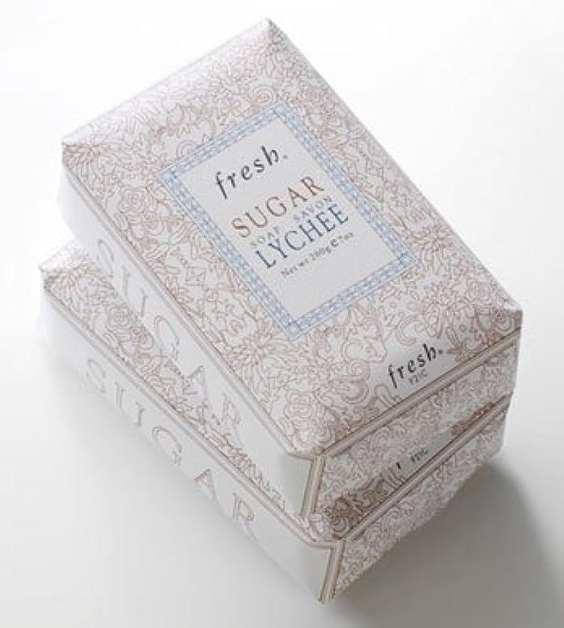 膨張するマトロンブラケットFresh SUGAR LYCHEE SOAP(フレッシュ シュガーライチ ソープ) 7.0 oz (210g) by Fresh for Women