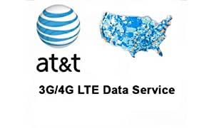 AT&T 3G LTE プリペイド Micro SIMカード SKU 40954 並行輸入品