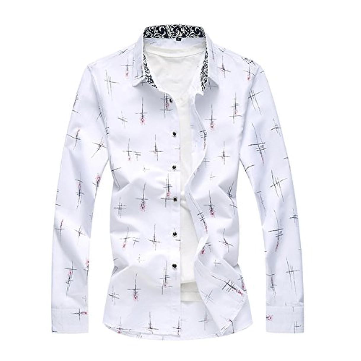 吸収拒絶オフェンスInitialGイニシャルジー カジュアルシャツ メンズ ワイシャツ 長袖 アロハシャツ 大きいサイズ リゾート ビーチ 015-qt4025-6302