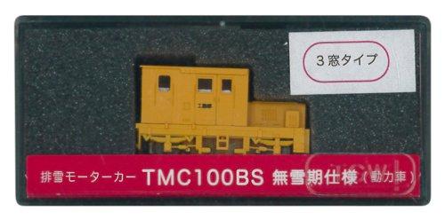 津川洋行 Nゲージ 14032 TMC100BS無雪期 3窓 M付 オレンジ