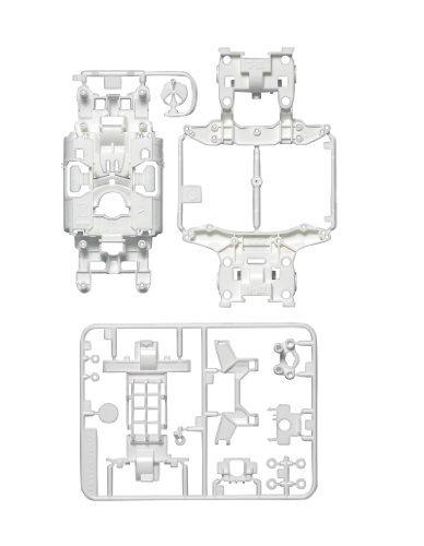 タミヤミニ4ホイールドライブ限定シリーズMS強化シャーシセット(ホワイト) 94855