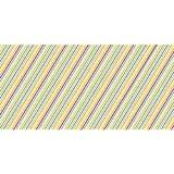 "Dcwv Adhesive Vinyl 12""X24""-Multi Stripes"