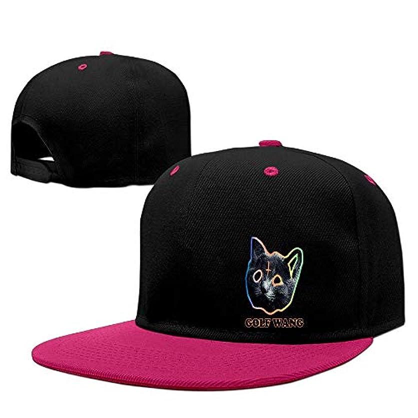 前任者ピアニスト連帯コントラストヒップホップ野球帽 GOLF WANG 若いスポーツのアウトドアには野球帽があった