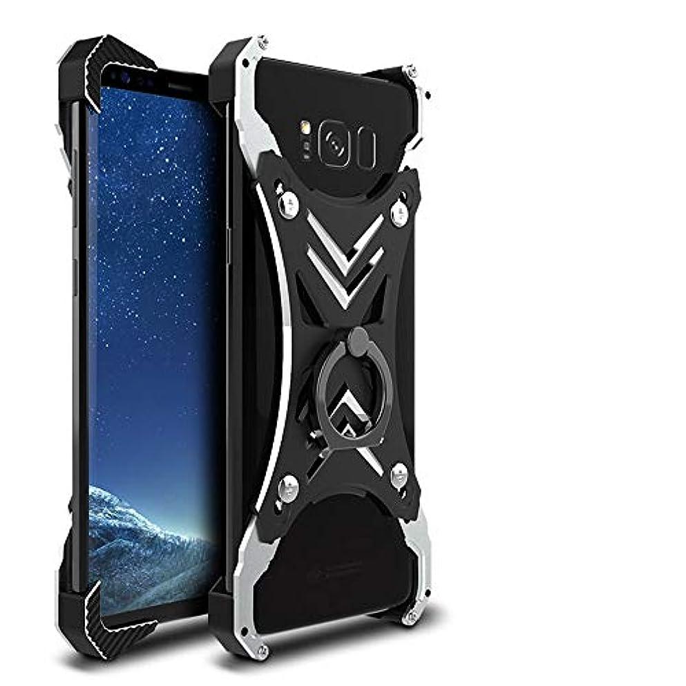 引き出し知的案件Tonglilili 携帯電話、シェルメタルフレーム新しい反落下マルチ携帯電話シェルブラケット電話ケースサムスン注8、S8プラス (Color : 黒, Edition : Note8)