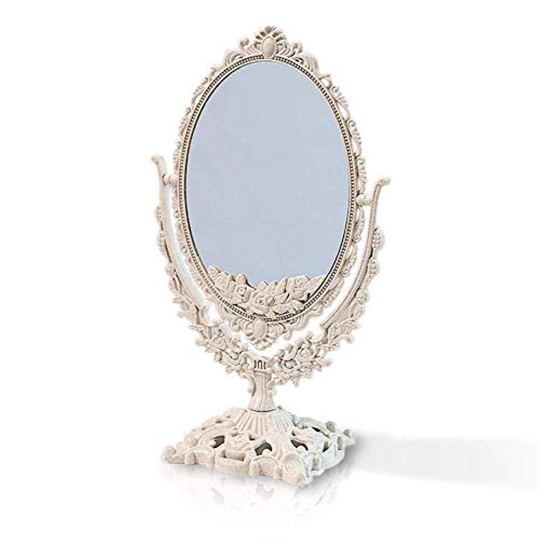 どこでも閃光彼らはエルフィン アンティークミラー ハンドミラー 手鏡 クラシカル 高級感 お姫様 多色 ヨーロピアン (卓上鏡楕円)