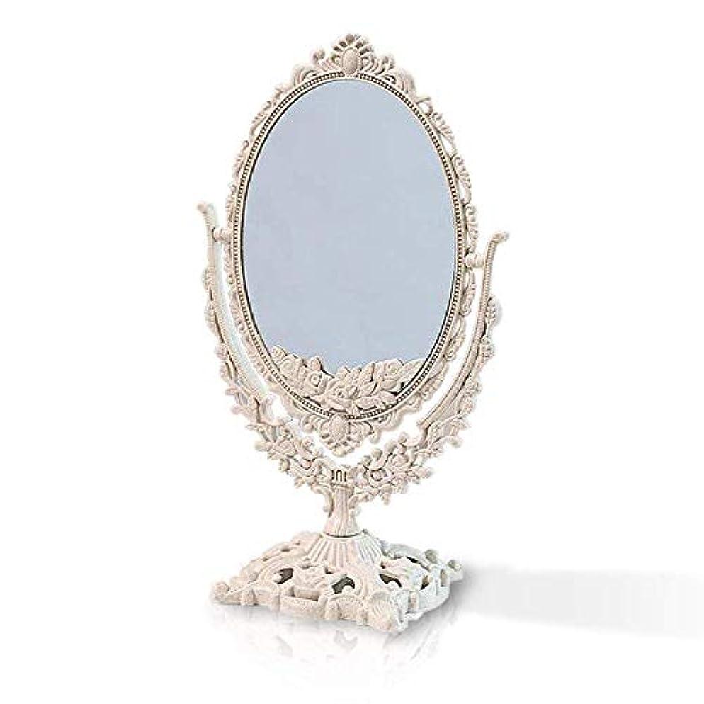 誇り沼地病的エルフィン アンティークミラー ハンドミラー 手鏡 クラシカル 高級感 お姫様 多色 ヨーロピアン (卓上鏡楕円)