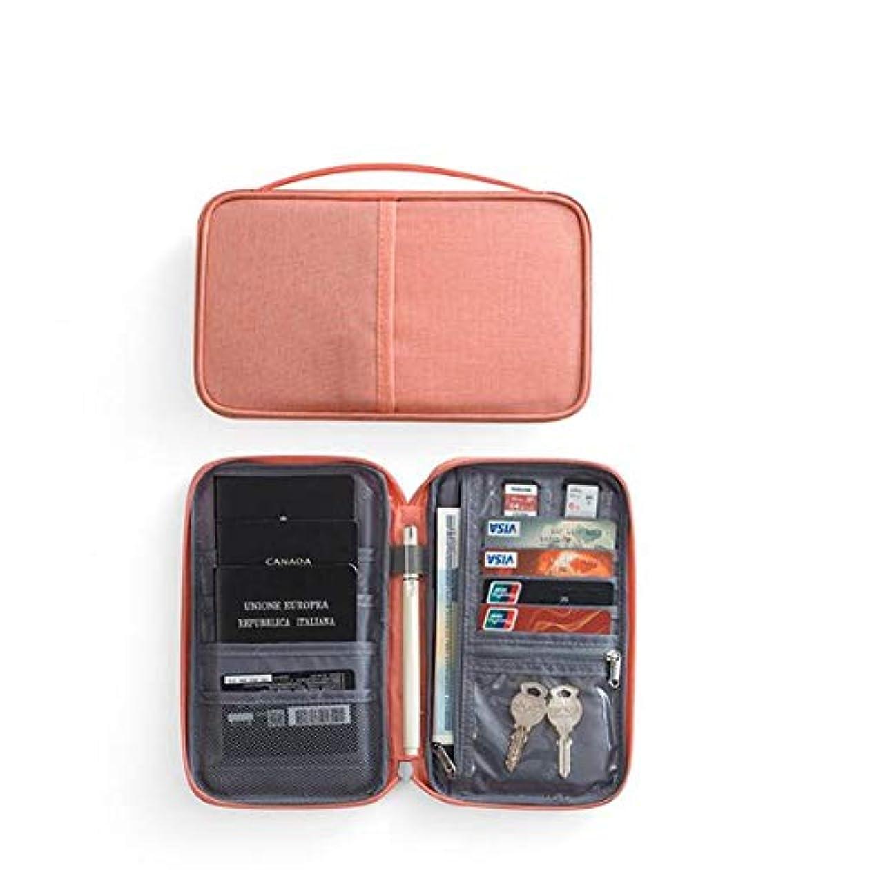 測定実験をする無傷DishyKooker ポータブルパスポートパッケージ チケットホルダー 多機能防水ドキュメンテーションバッグ