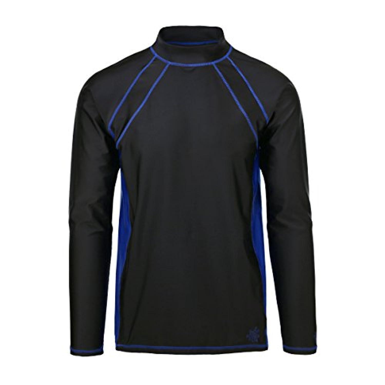UV Skinz UPF 50 +メンズ長袖アクティブSun & Swimシャツ--