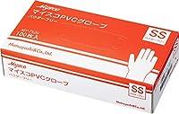 使い捨て手袋 マイスコPVCグローブ SS 40箱セット (4000枚)