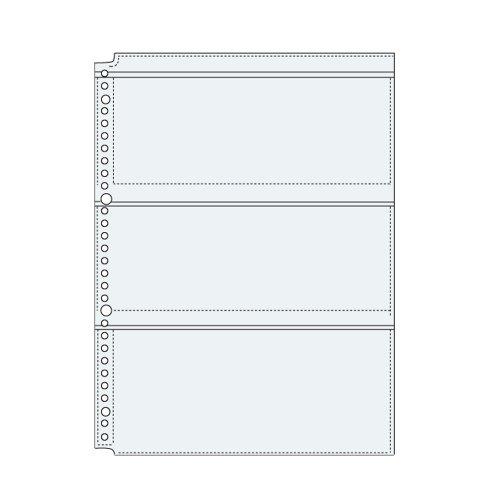 コレクト 透明ポケット3 A4-L 30穴 10枚 S-8430