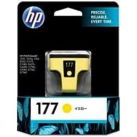 (まとめ) HP177 インクカートリッジ イエロー C8773HJ 1個 【×3セット】 〈簡易梱包