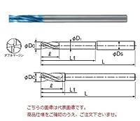 不二越(ナチ) 超硬ドリル AQDEXZLS0490 (アクアドリル EX フラットロングシャンク)