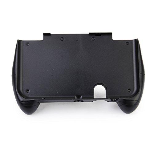 【ノーブランド品】NEW 3DS LL用 コントローラハンドルホルダー ハンドグリップ保護 黒