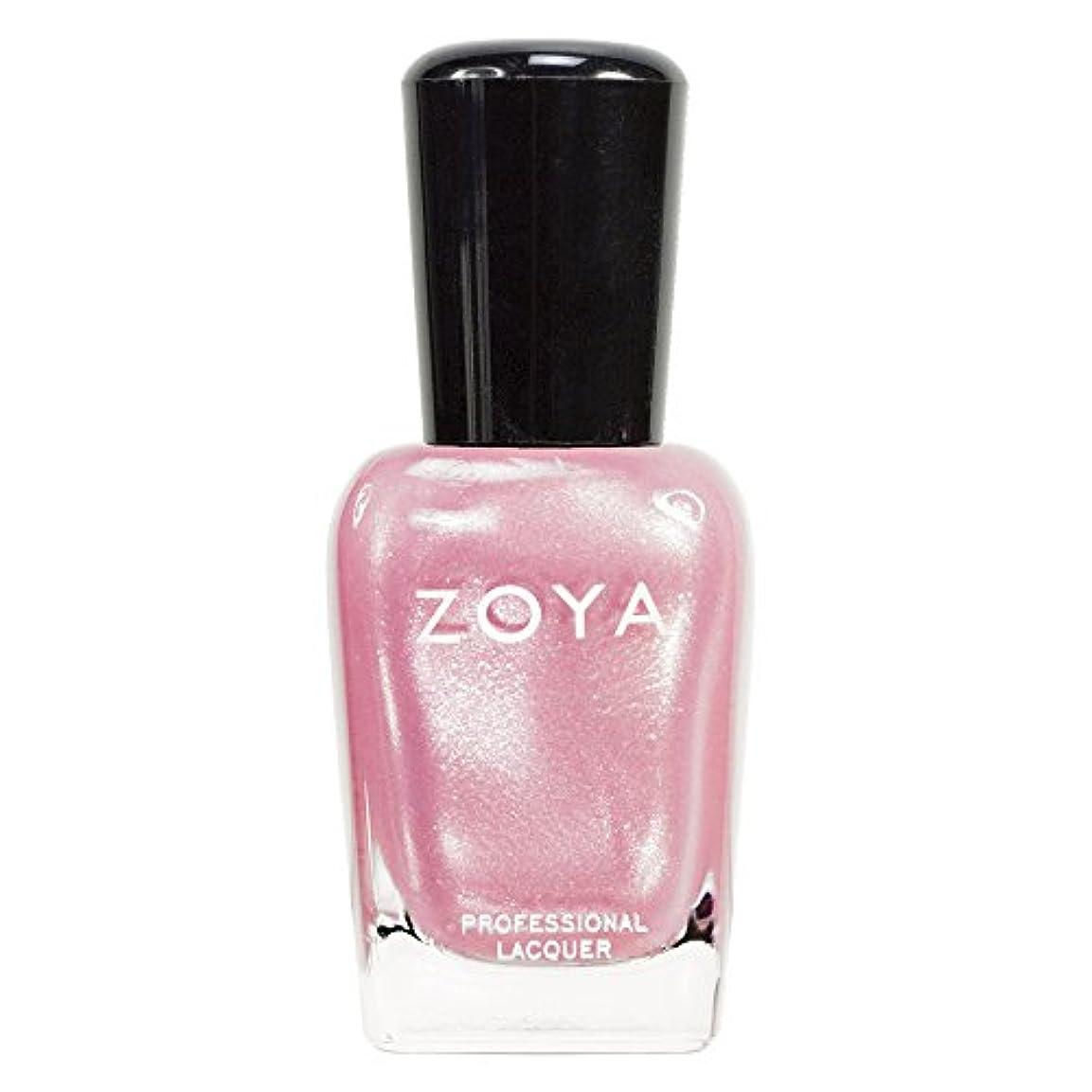 時制労働ZOYA ゾーヤ ネイルカラーZP261 BEBE ベイブ 15ml フェミニンなピンク シアー?パール/メタリック 爪にやさしいネイルラッカーポリッシュ