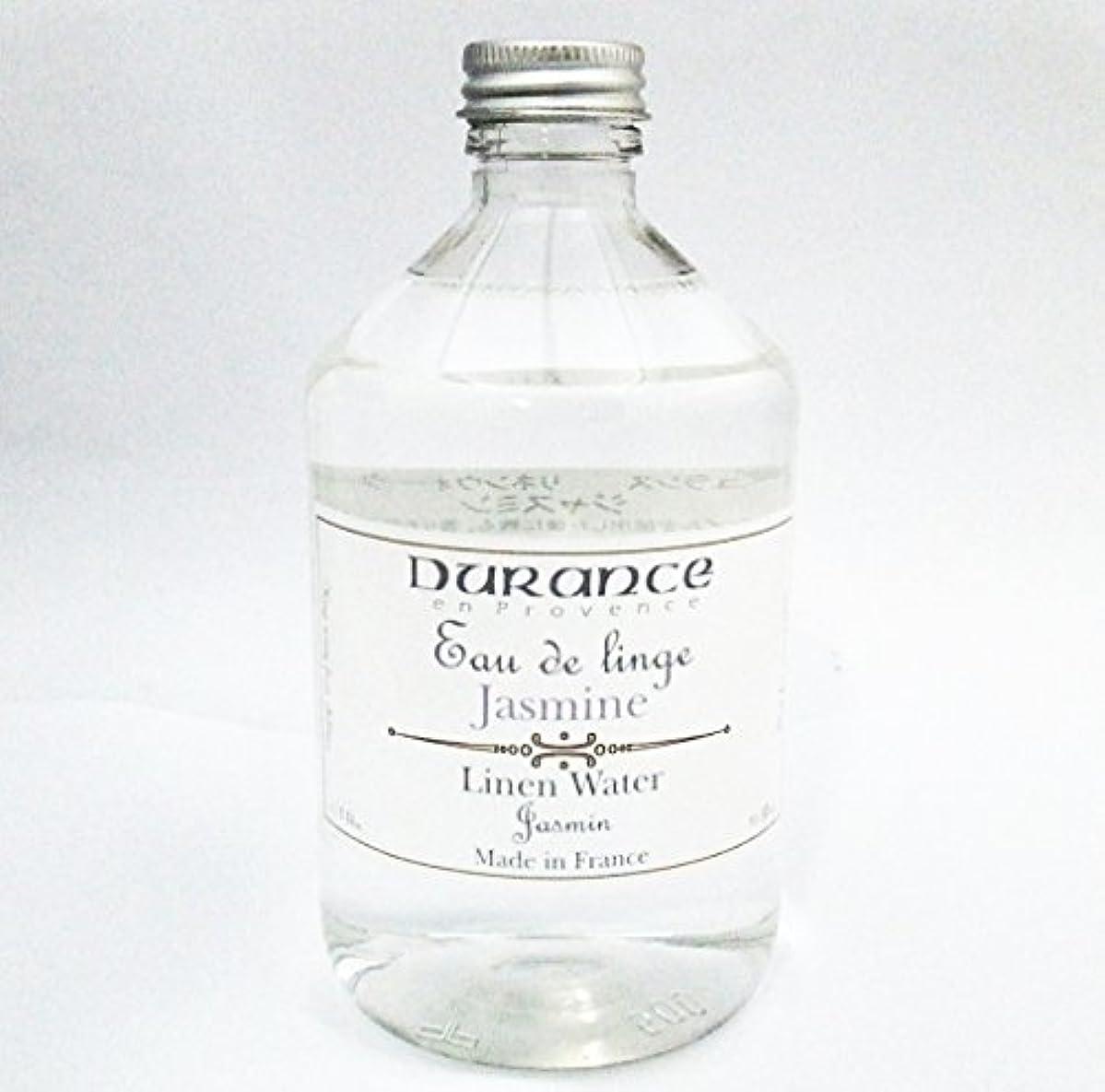 セッションベジタリアン贈り物DURANCE(デュランス) リネンケアシリーズ リネンウォーター 500ml 「ジャスミン」 4994228006738
