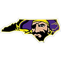 East Carolina Pirates Jolly Roger状態オートdecal-3」