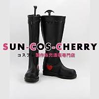 【サイズ選択可】コスプレ靴 ブーツ K-572 VOCALOID スペクタクルチューン 鏡音リン・鏡音レン 女性22CM