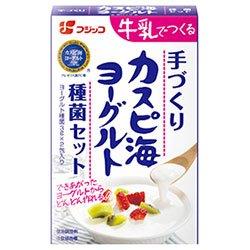 フジッコ カスピ海ヨーグルト種菌セット 6g(3g×2)×10箱入×(2ケース)