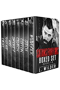 The Satan's Fury MC Series- Collection 1-8: Books 1-8 by [Wilder, L.]
