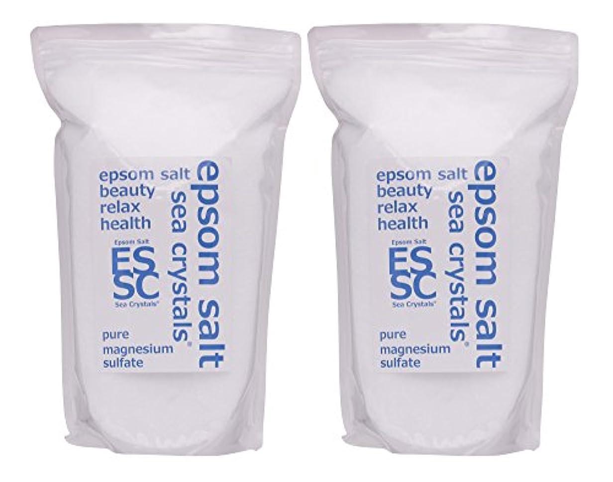 め言葉今日ベルベットシークリスタルス 国産 エプソムソルト (硫酸マグネシウム) 入浴剤 4.4㎏ (2.2kgX2) 浴用化粧品 計量スプーン付 無香料