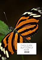 THIS IS MY BUTTERFLY YEAR: DIARY 2020