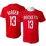 E-5Star Tシャツ メンズ レディース 春夏 半袖 シティ版 バスケ選手記念tシャツ ロケット 13 レッド カジュアル