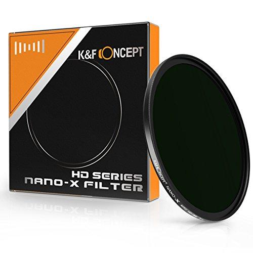 ND1000 77mm、K&F Concept NDフィルター77mm 減光フィルター カメラ用フィルター 光量調節用 ジャパン・オプティクス 超薄型 HD 16層マルチコート Nano-X ND1000
