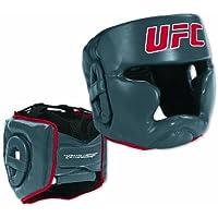 UFC Headgear、レッド/グレー、S / M