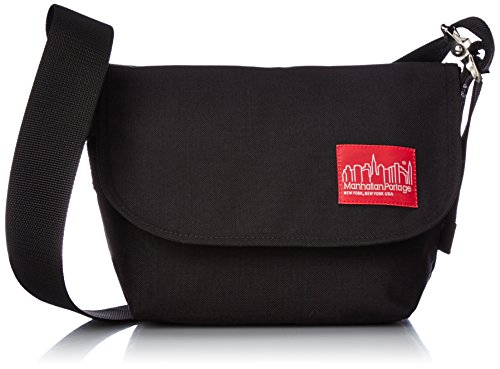 [マンハッタンポーテージ] Manhattan Portage 公式 Vintage Messenger MP1605VJR BLK (Black)