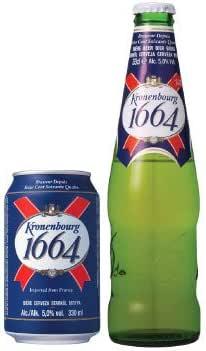 クローネンブルグ 1664 (瓶)330ml×24本/n フランスビール