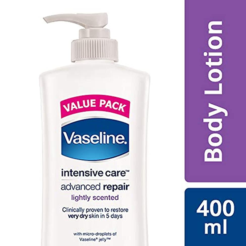 ほのめかす創造数字Vaseline Intensive Care Advanced Repair Body Lotion, 400 ml