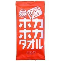 ホカホカタオル(電子レンジ用) 小箱30個入 綿100%ウェットタオル
