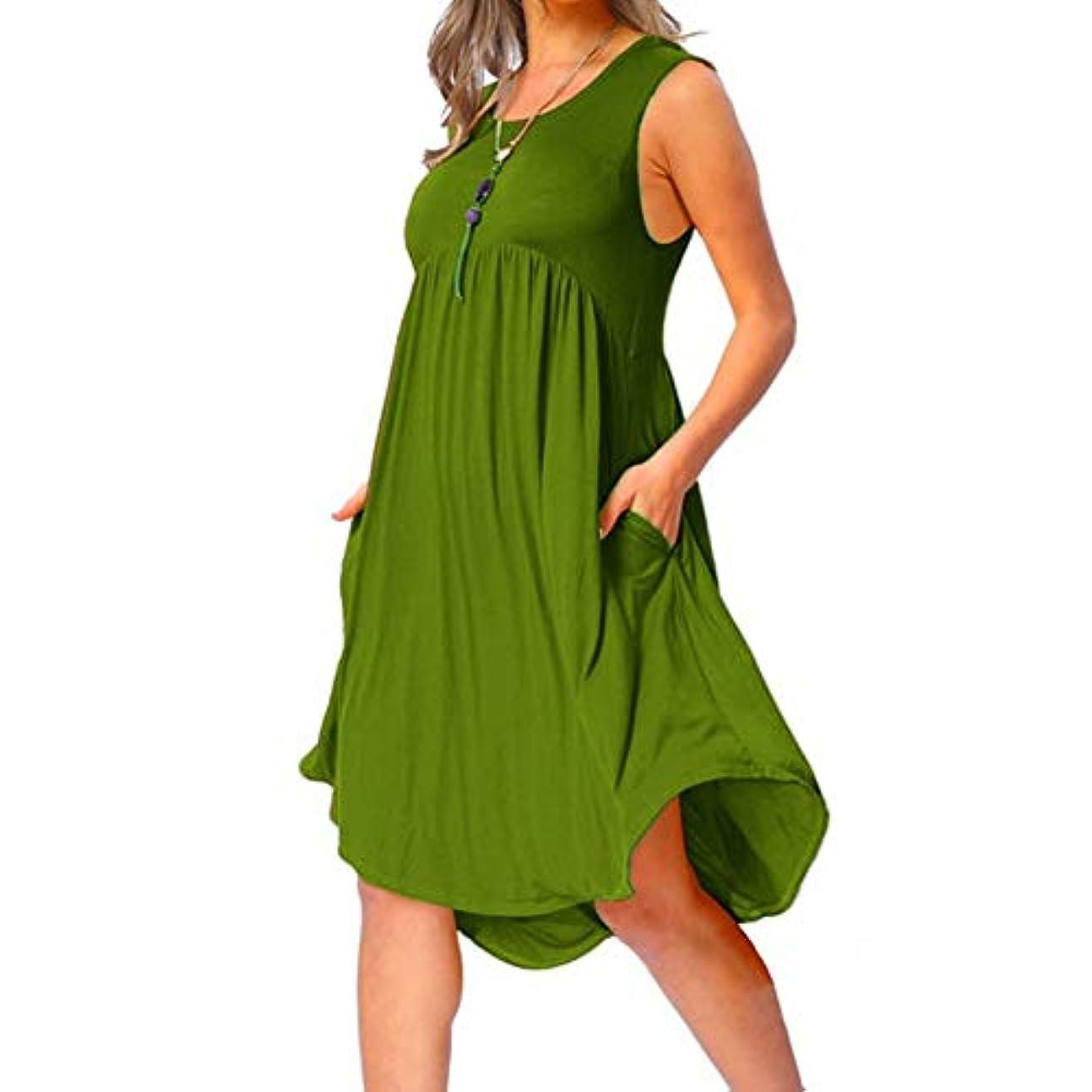 過言疲れた子孫MIFAN の女性のドレスカジュアルな不規則なドレスルースサマービーチTシャツドレス