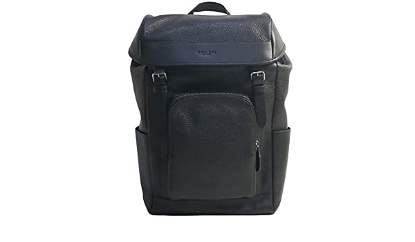 1fb3fe6979b9 Amazon | コーチ メンズ レザーバックパック リュック COACH MEN'S HENRY BACKPACK IN PEBBLE  LEATHER F72311 BLACK [並行輸入品] | COACH(コーチ) | メンズ