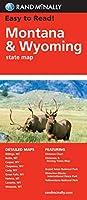 Rand McNally Easy to Read Montana/ Wyoming State Map (Rand Mcnally Easy to Read!)