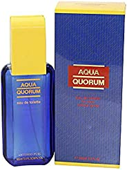 Antonio Puig Aqua Quorum Eau de Toilette Spray for Men, 100ml