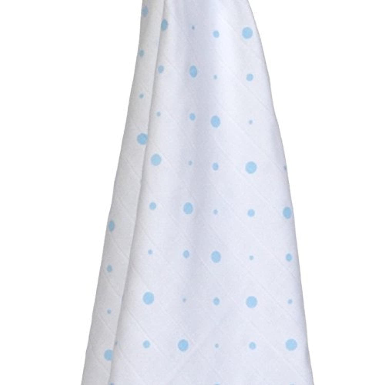 Gloop Baby Care Organic Cotton Traditional Muslin (100 x 100 cm, White by Gloop Baby Care