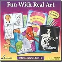 Fun With Real Art (Intermediate Grades 4-6) [並行輸入品]