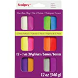Sculpey Sculpey III Set - Bright Multi Pack - 12 Pack