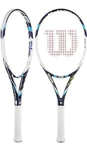 (ウイルソン)Wilson Juice 100UL/2014年/ジュース 100 UL (ウルトラ・ライト) /ガット張上げ済み/硬式テニスラケット[並行輸入品] (グリップサイズ 1 (4 1/8))