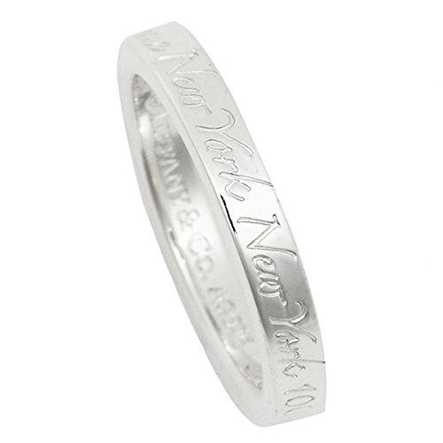 ティファニー リング TIFFANY&Co. ATFRI23457679 ノーツ ナローバンド リング NOTES NARROW BAND RING 指輪 シルバー[並行輸入品]