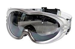 VAXPOT(バックスポット) ゴーグル スノーボード スキー 【メガネ併用 ミラーレンズ ダブルレンズ くもり止め加工 UVカット メンズ・レディース兼用】 VA-3610