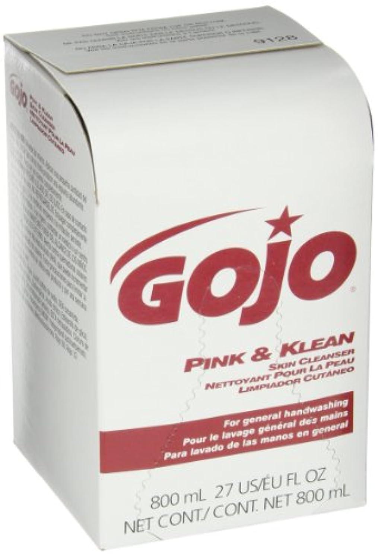 膿瘍費やす保証するPink & Klean Skin Cleanser 800-ml Dispenser Refill, Floral, 12/Carton (並行輸入品)