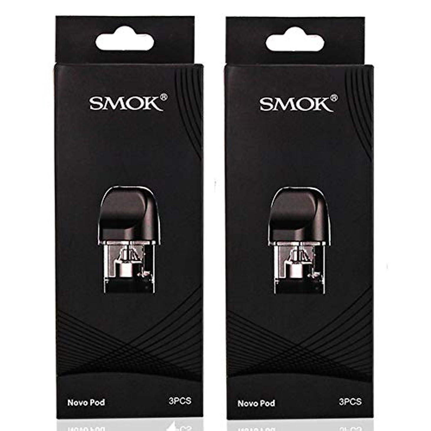 日記読書をする予感Smok Novo Pod ボックスE-Liquid E-Juice 2mlサプリメントボックス (2 Packung 1.2Ω)