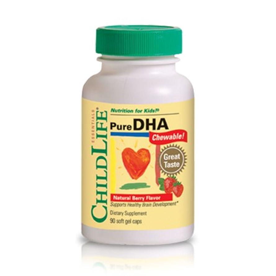 自発ポーチ血色の良い海外直送品 Child Life Essentials Pure Dha, 90 Softgels 250 mg
