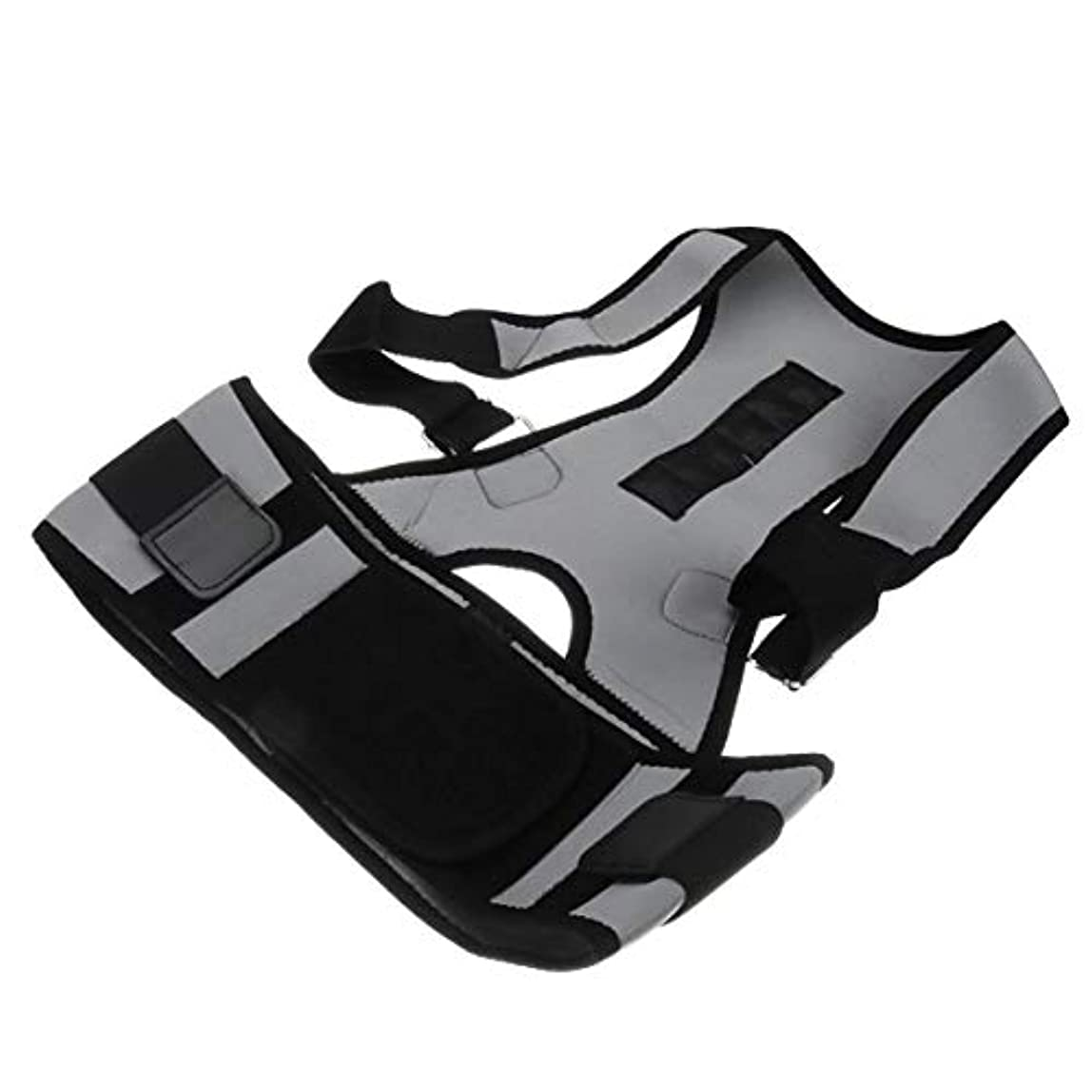 豚発明する売上高Intercorey姿勢矯正ベルト調節可能な姿勢矯正ユニセックスバックサポートショルダーランバーブレースベルト