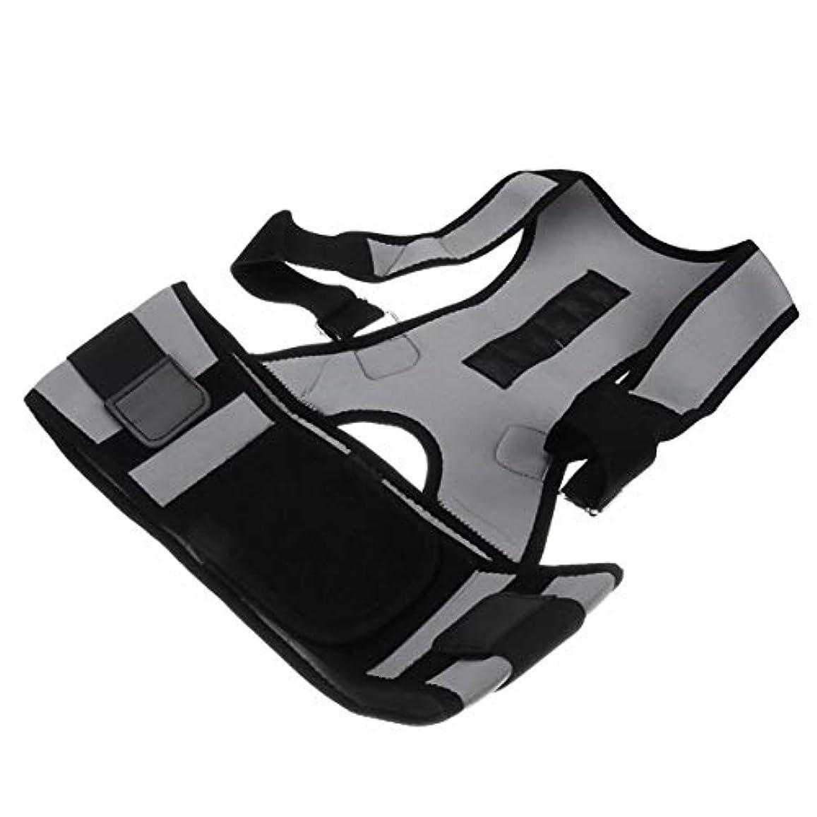 安全な素子偉業Intercorey姿勢矯正ベルト調節可能な姿勢矯正ユニセックスバックサポートショルダーランバーブレースベルト