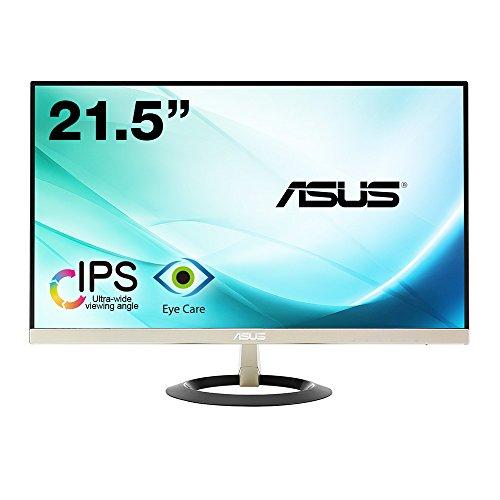 【Amazon.co.jp限定】ASUS フレームレス モニター 21.5インチ IPS 薄さ7mmのウルトラスリム ブルーライト軽減 フリッカーフリー HDMI,D-sub スピーカー VZ229H