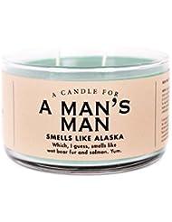 Man 's Man Candle